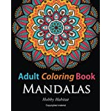 Adult Coloring Books:Mandalas: Coloring Books for Adults Featuring 50 Beautiful Mandala, Lace and Doodle Patterns