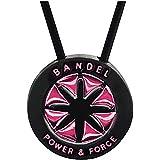 [バンデル] ネックレス メンズ necsil bandel-1 ショートタイプ【40cm】 ブラック×ピンク