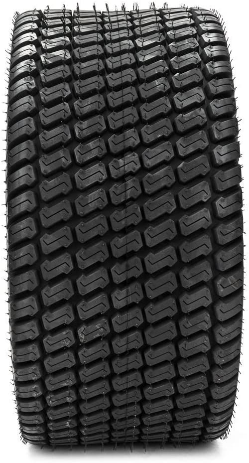 TRIBLE SIX Set of 2 Tubeless Turf Tires 24x12-12 Lawn & Garden Mower Tractor Cart Tires 4Ply P332 24x12.00-12