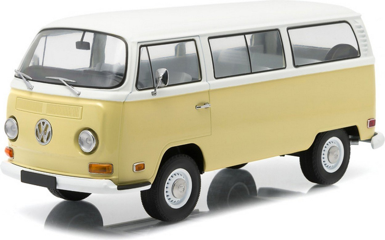 Promoción por tiempo limitado GREENLIGHT GREEN19012 VW BUS T2B 1971 ARTISAN COLLECTION KANSAS BEIGE WHITE 1:18