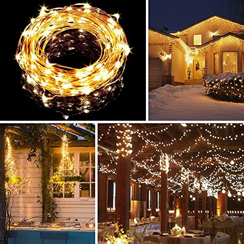 String Lights Qatar : String Lights, Venhoo Dimmable Copper Wire LED Starry Lights Waterproof Outdoor Indoor Rope ...