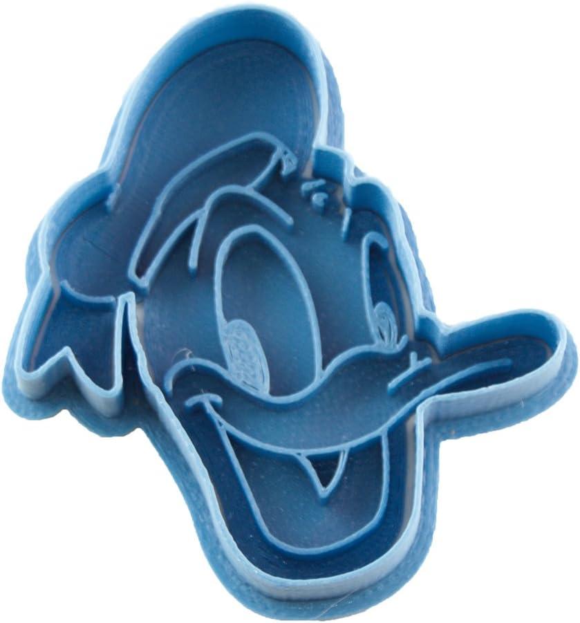 Cuticuter Baby Donald Cookie Cutter Blue Cortador de Galletas Azul 8x7x1,5cm