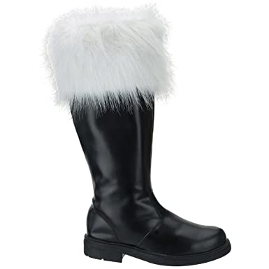 af3e2b052eb4 Amazon.com  Professional Adult Santa Boots  Clothing