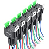 Amazon.com: EPAuto LED Light Bar Wiring Harness Kit, 12V 40A Relay on wiring a automatic transfer switch, wiring a socket, wiring a car starter, wiring a car flasher, wiring a brake light switch, wiring a contactor, driving lights for automotive relay, wiring a ignition switch,