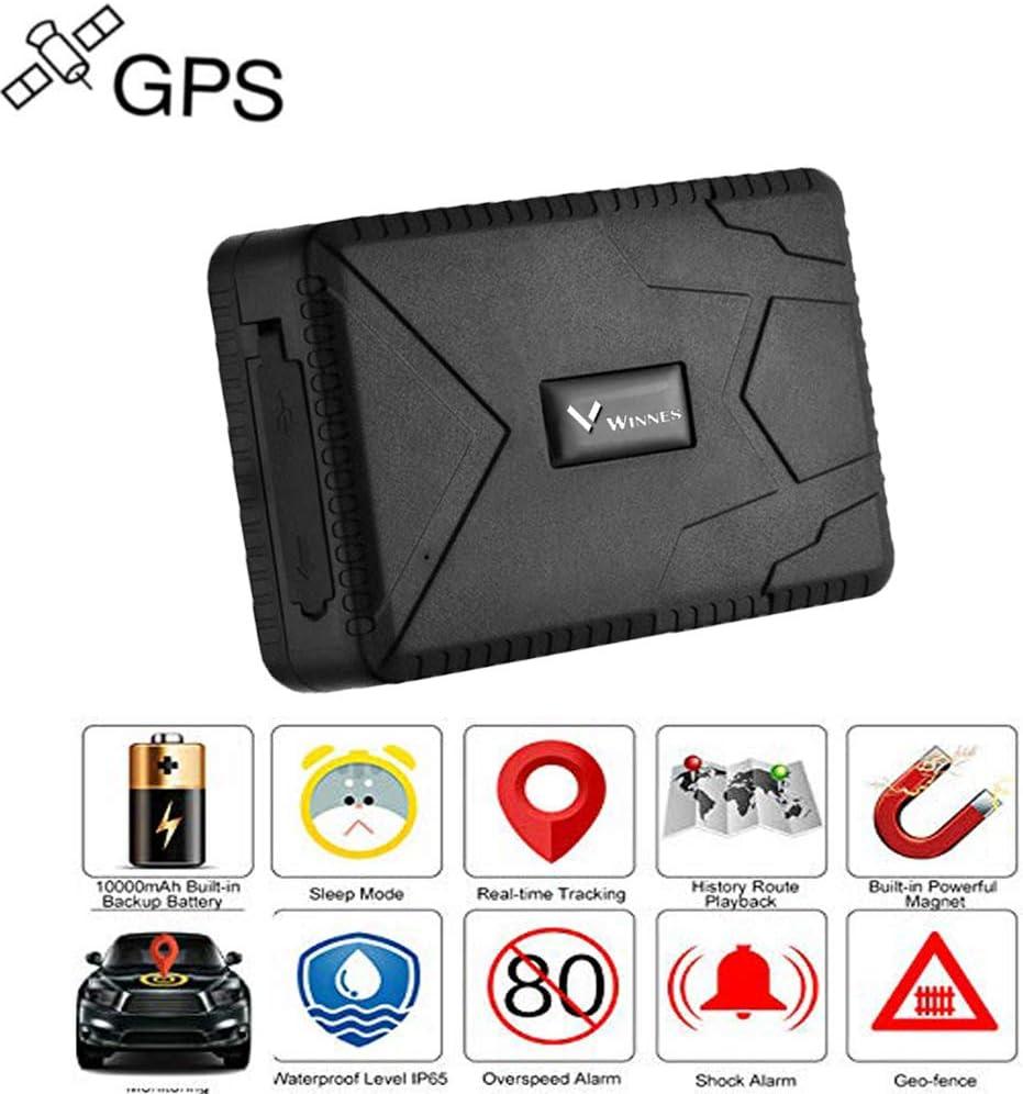 TKSTAR TK915 Tracker GPS Voiture Temps de veille 120 jours Traceur Localisation Véhicule en Temps Réel Localisateur GPS/A-GPS/lbs Traceur Antivol Voiture Moto Vélo