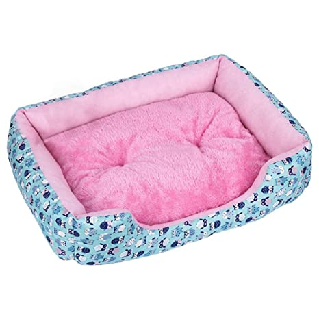 Amazon.com : Greencolorful Large Pet Beds, Square Dogs Cats ...