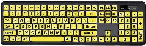 Knowled - Teclado con Cable USB (Gran Letras, Teclado de Alta ...