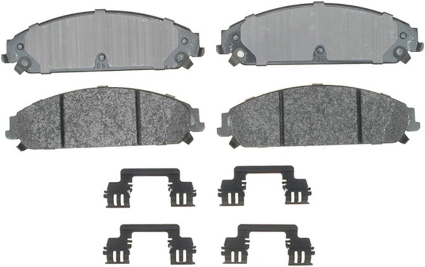 Disc Brake Pad Set-Fleet Semi-Metallic Disc Brake Pad Front ACDelco Specialty
