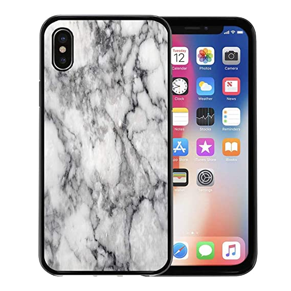 lowest price aed93 07940 Amazon.com: Emvency Phone Case for Apple iPhone Xs case,Gray Black ...