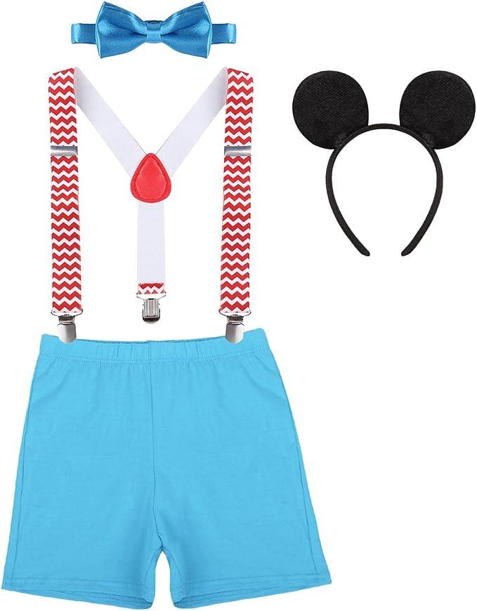 Amazon.com: Baby Boy 1er cumpleaños pastel Smash trajes ...