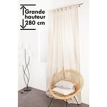 Hervorragend Vorhang Extra Lang Kräuselband 140 x 280 cm Boho-Stil Modernes KF99