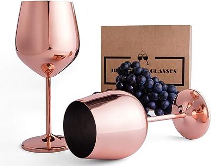 Steel Wine Goblets