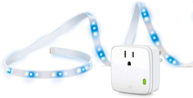 Eve Movie Night - Smart LED Strip and Smart Plug with Apple HomeKit technology, no bridge required