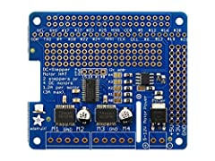 Let your robotic dreams come true with the new DC+Stepper Motor HAT from Adafruit. This Raspberry Pi add-on is perfect for any motion project as it can drive up to 4 DC or 2 Stepper motors with full PWM speed control.  Since the Raspberry Pi ...