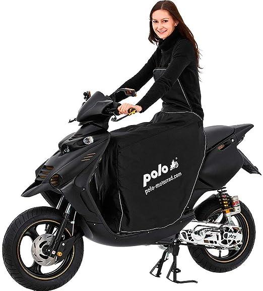Polo Motorradabdeckung Motorradplane Motorradgarage Beinschutz Roller Universal Bein Wetterschutz Motorroller Roller Regenschutz Motorroller Nässeschutz Schützt Vor Wind Regen Und Kälte Auto