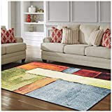 Superior Lilith Collection, 10mm Pile Height with Jute Backing, Quality and Affordable Area Rugs, 2'7'' x 8' Runner - Multi Color