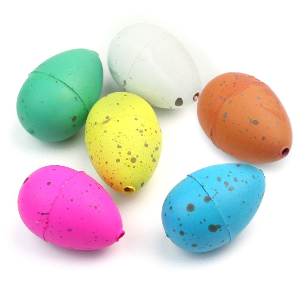 6pcs Cute Magic Growing Dinosaur Egg Add Water Child Gift Hatching Inflatable Toy YTQ