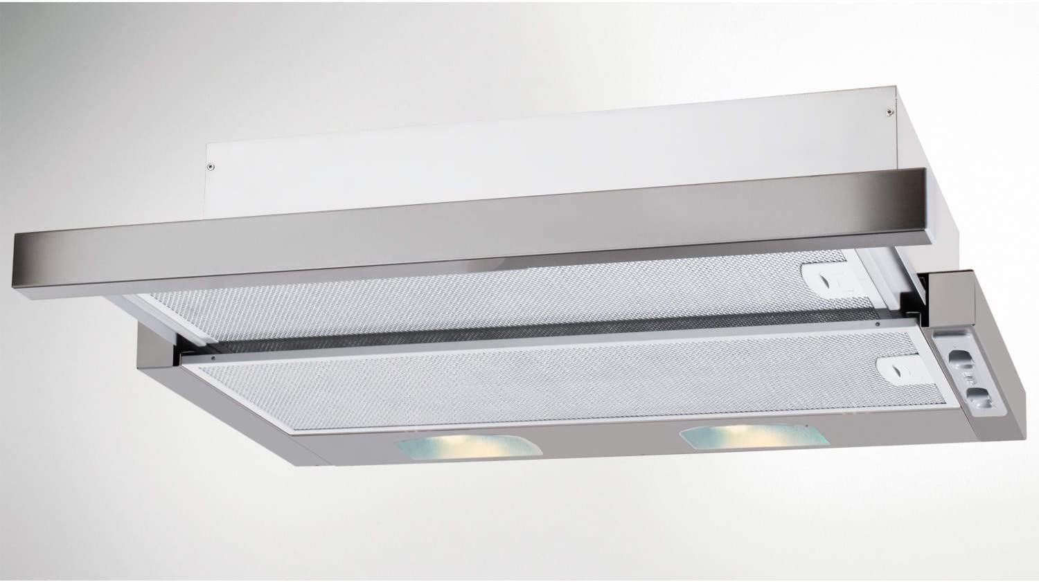 Beko CTB6254X 60cm Wide Telescopic Cooker Hood Silver by Beko: Amazon.es: Hogar