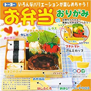 origami bento box kit origami intermediate kitchen dining. Black Bedroom Furniture Sets. Home Design Ideas