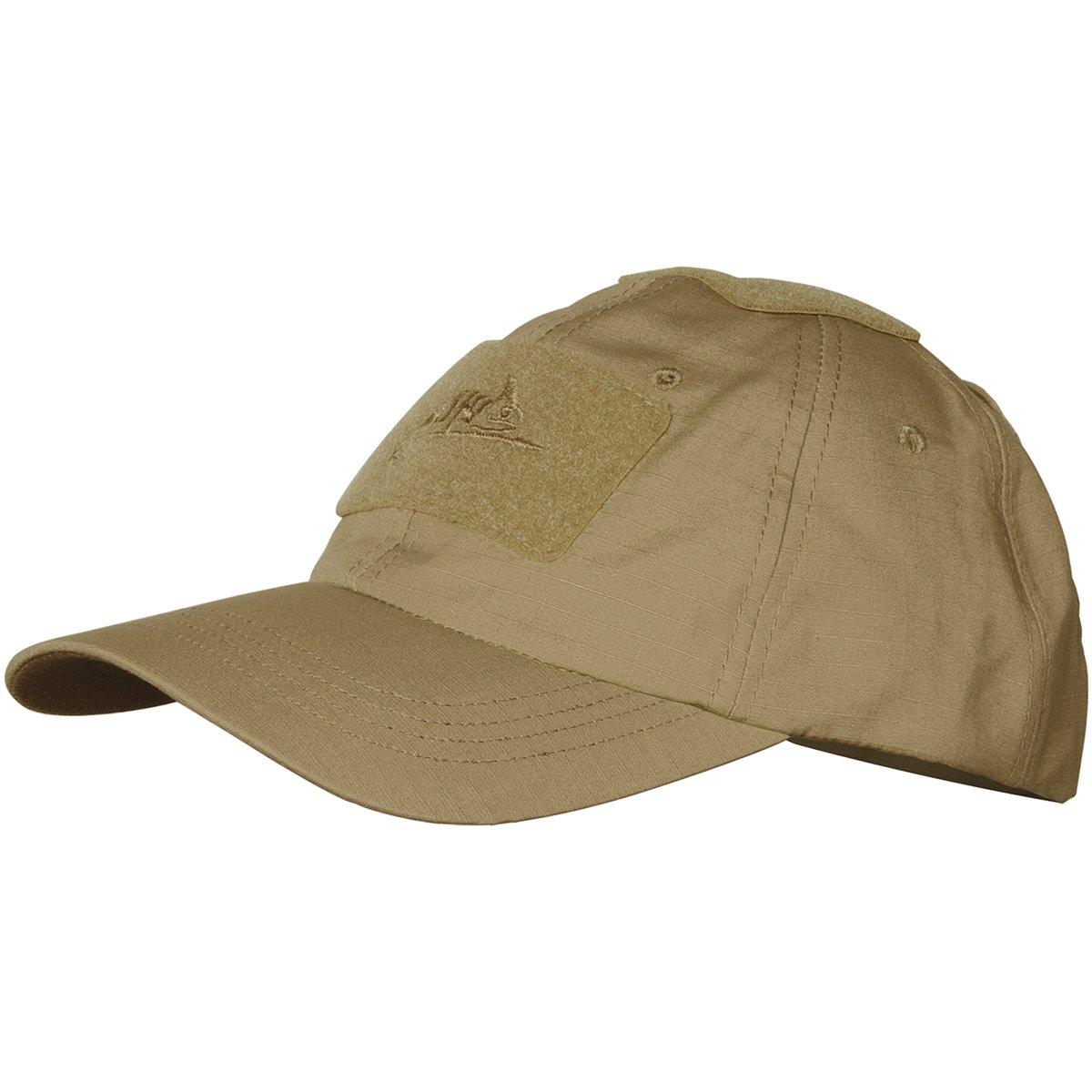 Helikon Coyote Tan Baseball Cap Cotton Ripstop operator hat