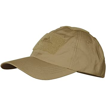 Helikon Coyote Tan Baseball Cap Cotton Ripstop operator hat  Amazon.co.uk   Sports   Outdoors 677e577cfe5