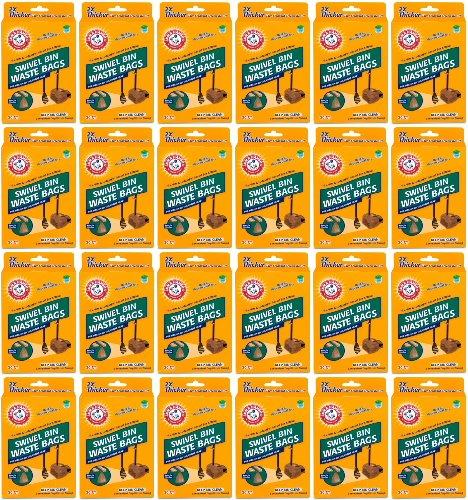 Arm & Hammer Swivel Bin Waste Bags 480ct (24 x 20ct)