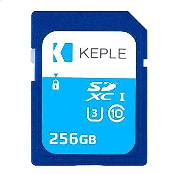 256GB Tarjeta SD Clase 10 de Memoria Alta Velocidad para ...