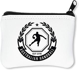 Sport Badge Australian Handball Portefeuille À Glissière Porte-Monnaie