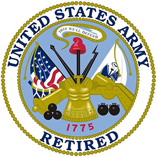 1 Pc Heart Stirring Unique United States Army Retired Veteran 1775 This We'll Defend Sticker Sign Bike Patches Decals Decor Kids Decal Truck Wall Car Window Cars Vinyl Stickers Size 12x12