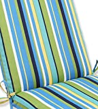 Pillow Perfect Outdoor Topanga Stripe Lagoon