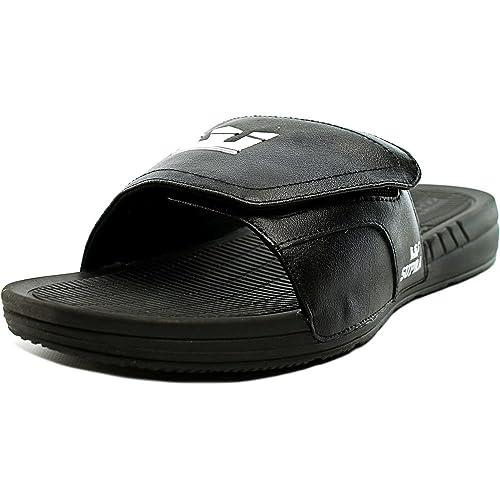 643fc6de5b7b Supra Locker Men US 13 Black Slides Sandal  Amazon.ca  Shoes   Handbags