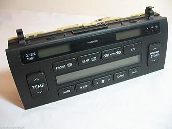 Lexus LS400 ATC dash a/c heater climate control 55902-50200