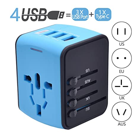 Review Travel Adapter, Universal Travel