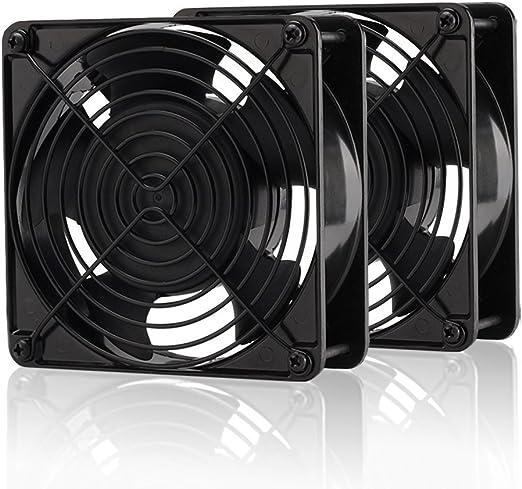 EZDIY-FAB - Ventilador de refrigeración (120 mm, 200 CFM, 4000 rpm ...