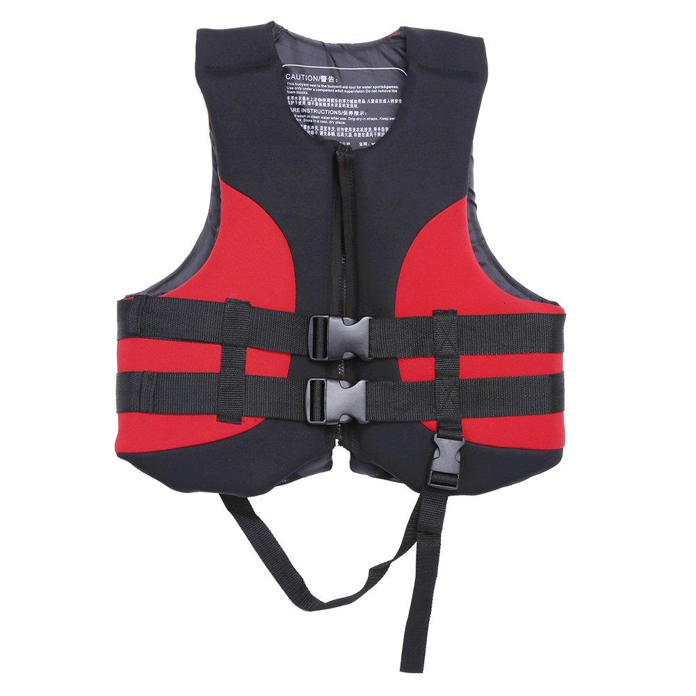 【おトク】 Dilwe Outdoor Life Jacket Dilwe Vest, Water Sports Emergency Sports Buoyancy Aid Swim Fishing Jacket with Emergency Whistle for Summer Beach Vacation B07CQVBCS5, ユアーズゴルフプラザ:329623b7 --- a0267596.xsph.ru