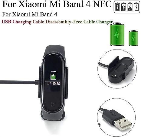 Vaycally Cavo di Ricarica Adattatore USB per Xiaomi Mi Band
