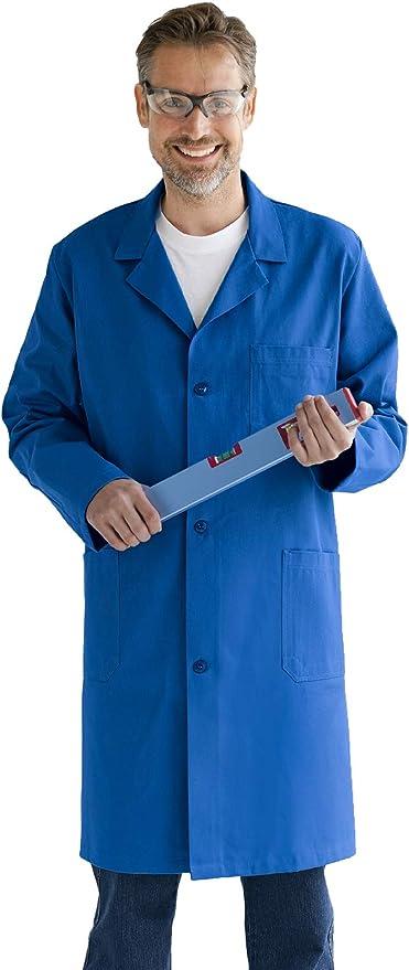 Donna Grembiule da Lavoro Camice da Laboratorio Magazzino Farmacia Uomo