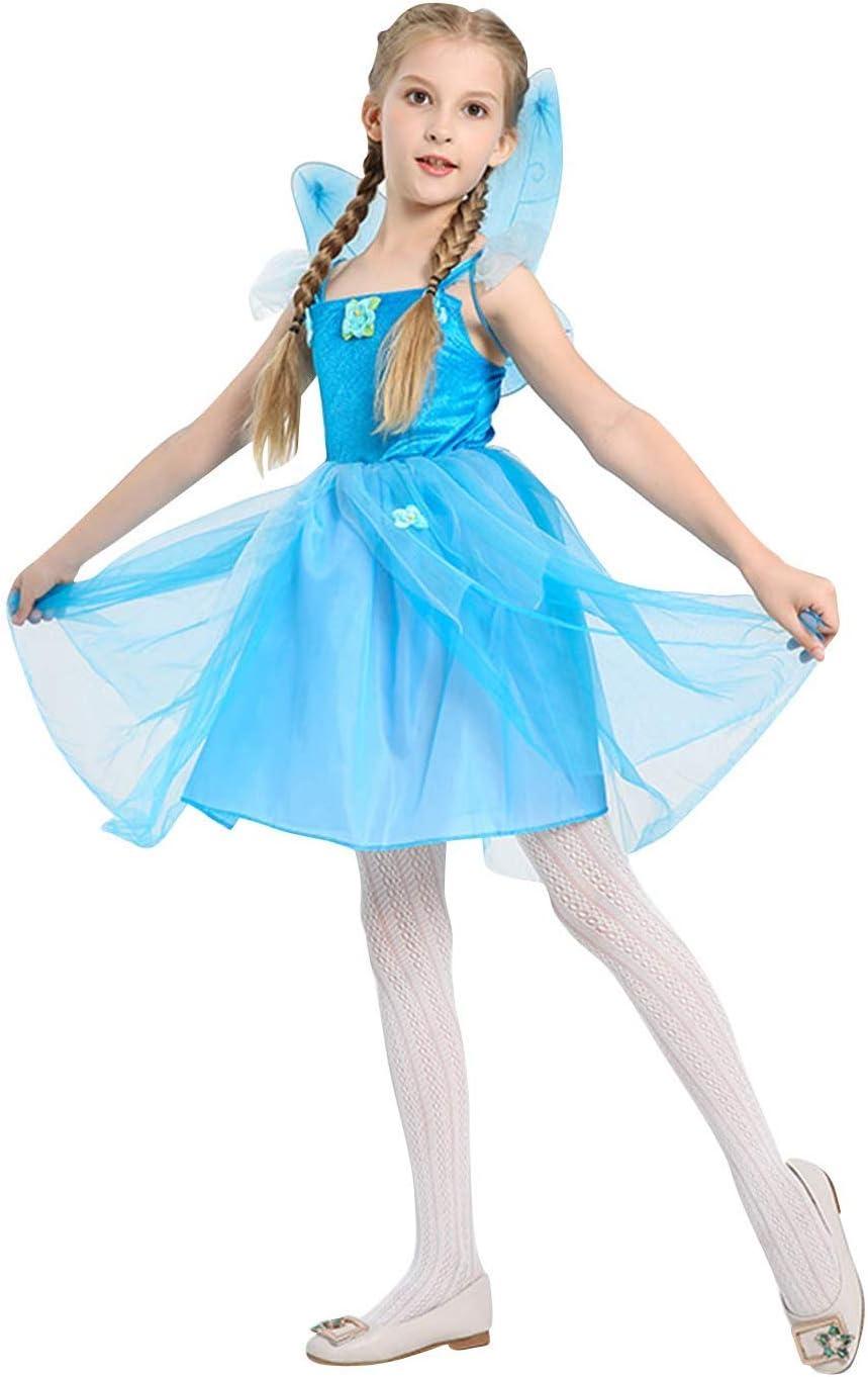 XYFW Disfraz De Princesa Cosplay para Niña Disfraz Disfraz De Hada ...