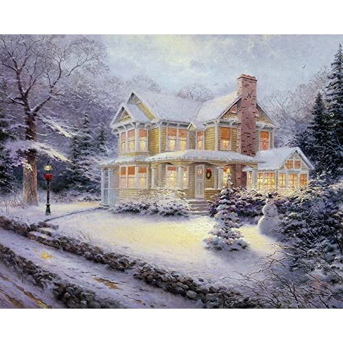 Thomas kinkade landscape oil paintings - Home interiors thomas kinkade prints ...