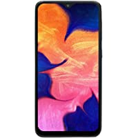 "Samsung Galaxy A10 32GB A105M 6.2"" HD+ Infinity-V 4G LTE Factory Unlocked GSM Smartphone - Black"