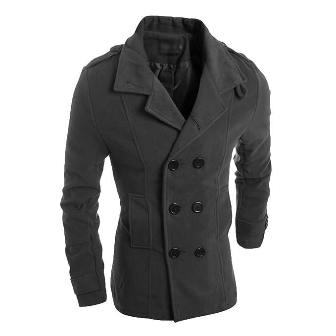 Saoye Fashion Cappotto da Uomo Cappotto Invernale Cappotto
