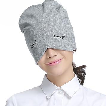 Schlafmütze, Damen-Monatsmütze, Baotou-Mütze, süßer Hut, Einfarbig ...