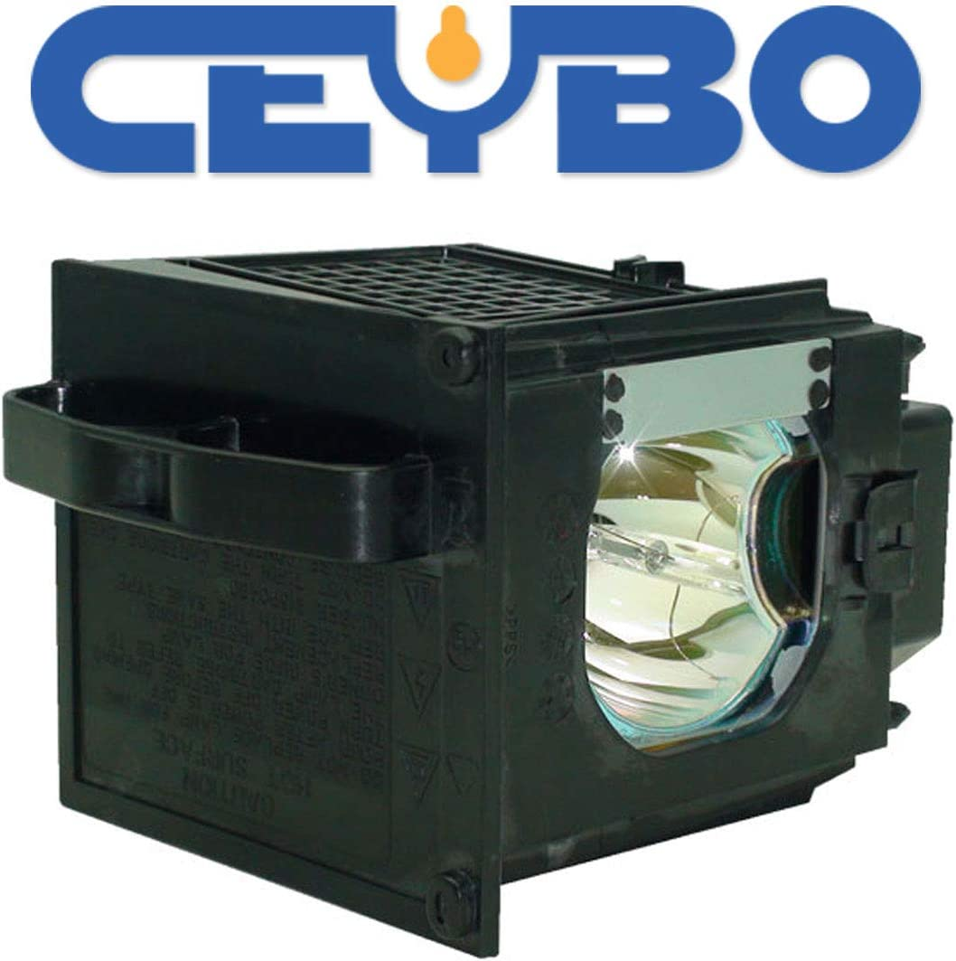 Ceybo 915P049020 Lamp//Bulb Replacement with Housing for Mitsubishi Projector fits WD-57831 WD-65831 WD-73732 WD57831 WD65831 WD73732 WD73831 WD-73831