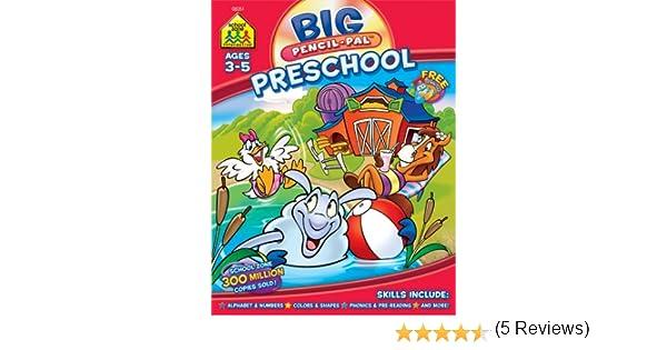 Big Preschool Pencil Pal: Barbara Gregorich: 0076645082510: Amazon ...