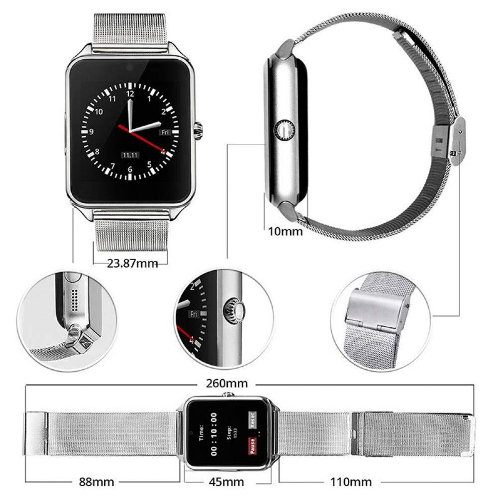 SZPZC Smart Watch Gt08 Plus Correa Metálica Bluetooth Muñeca ...