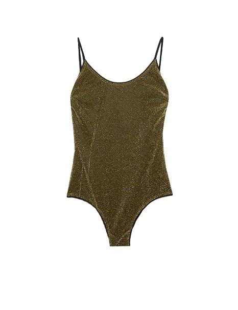 vendita calda online be23a 3cd26 Motivi : Costume Intero a Fascia Lurex (Italian Size ...