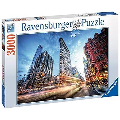 Ravensburger Flat Iron Building New York Puzzle Da Pezzi