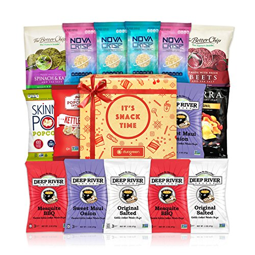 Healthy Snacks Gift Box Premium Care Package School Lunch Bundle 15 ct