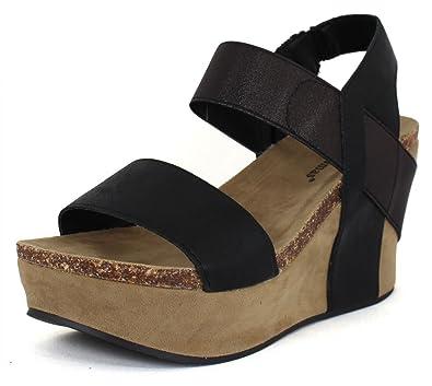 c949c31332d Pierre Dumas Hester-1 Women s Platform Wedge Sandalss