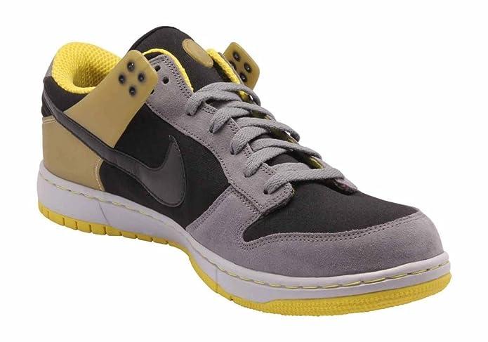 promo code 98cc6 d35aa Nike Mens Air Zoom Dunkesto Black Yellow Grey 315207-001 13 Amazon.ca  Shoes  Handbags